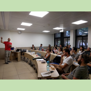 June 2018: E. J. Safra Young Researchers' Forum meets Dr. Burstein