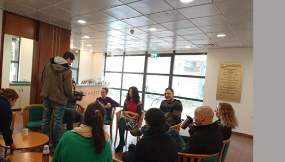January 2019: Edmond J. Safra young meets with Dr. Eli Levy Karin