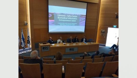 February 2020: Investors speak in the Edmond J. Safra Biomedical Informatics Entrepreneurs Salon