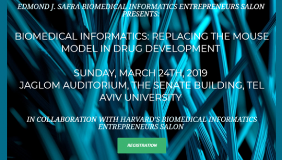 March 24, 2019: Edmond J. Safra Biomedical Informatics Entrepreneurs Salon