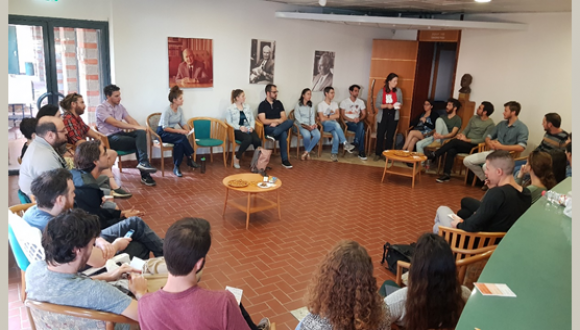 November 2019: Edmond J. Safra Young Researchers' forum opens the academic year